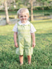 Baby Boys Smocked Green John John