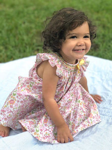 Baby girls hand smocked summer dresses