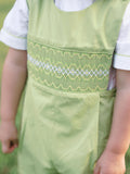 Hand smocked fall thanksgiving boys clothes