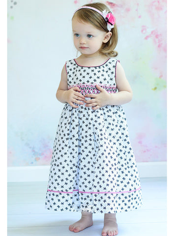 Summer Smocked Dresses for Toddler Girls