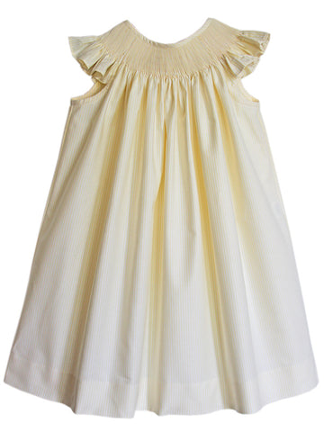Girls summer bishop dress ready for smocking