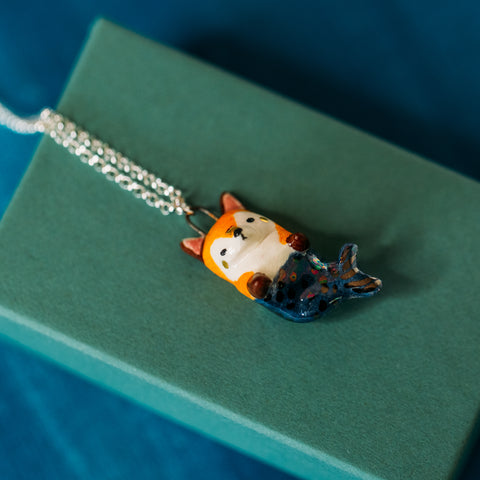 Mer-fox Necklace