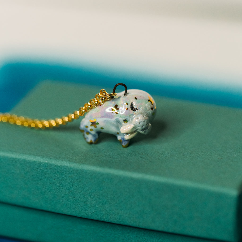 Starry Walrus Necklace