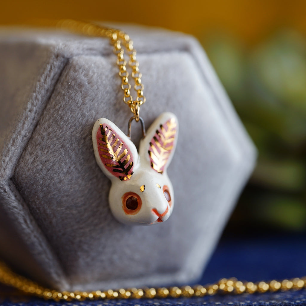 Rabbit Head Necklace