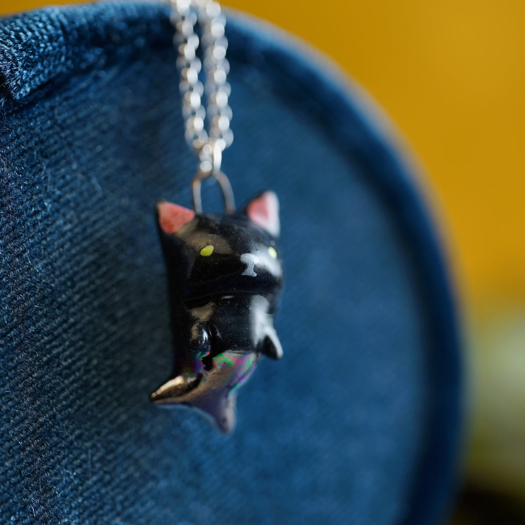 Black Purrmaid Necklace