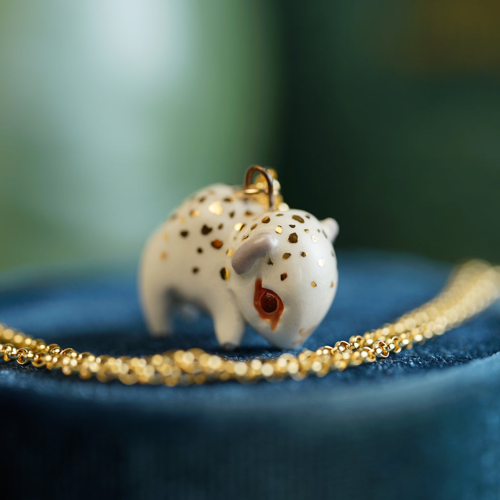 White Bison Necklace