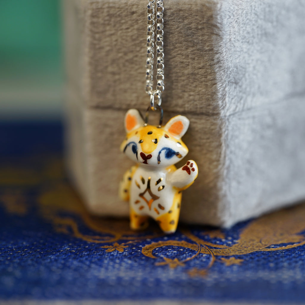 Star Cheetah Necklace