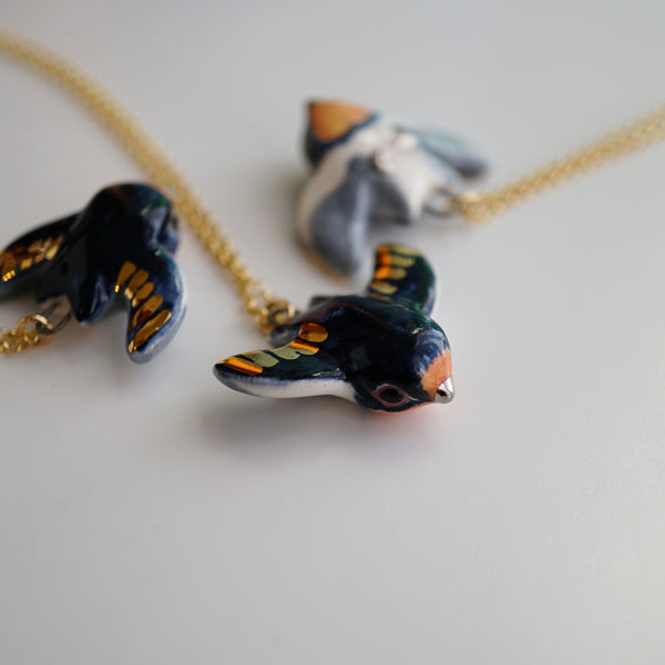 Barn Swallow Necklace