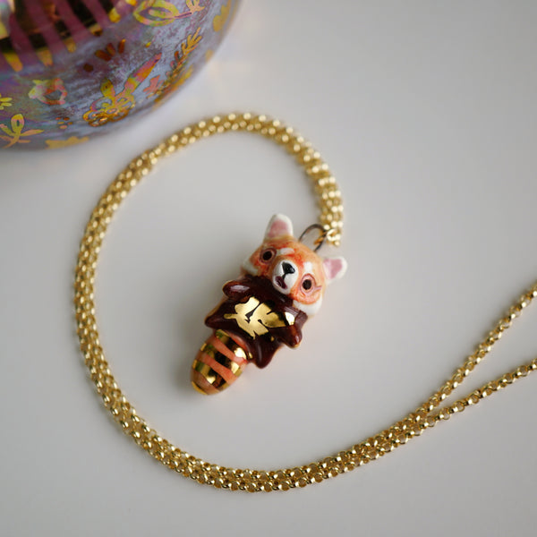 Red Panda Necklace