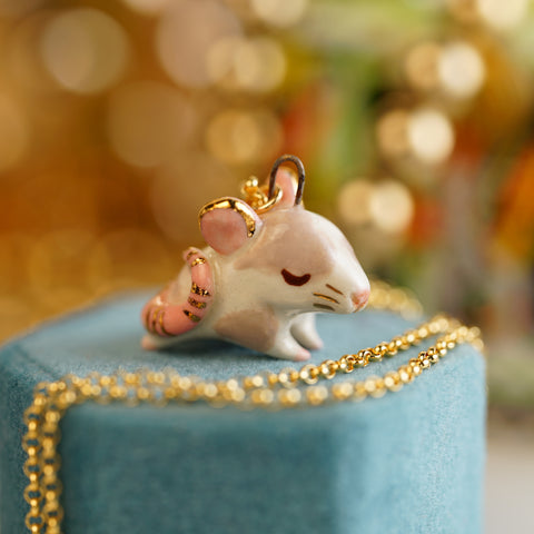 Little Mouse Necklace