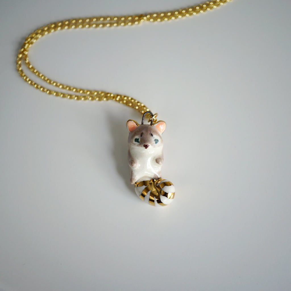 Ringtail Cat Necklace