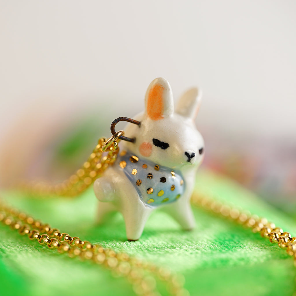 Tiny Alpaca Necklace