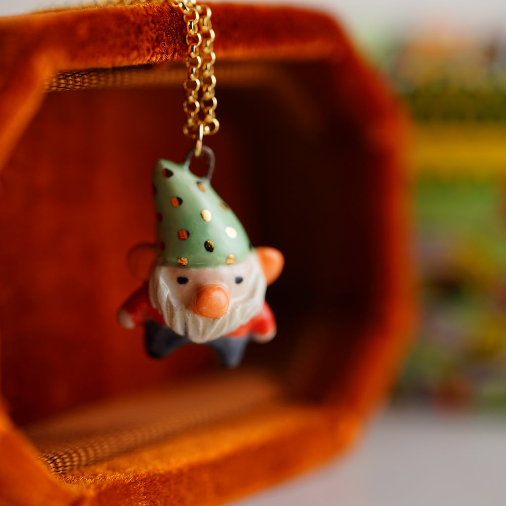 Friendly Gnome Necklace