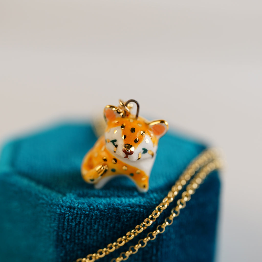 Little Cheetah Necklace