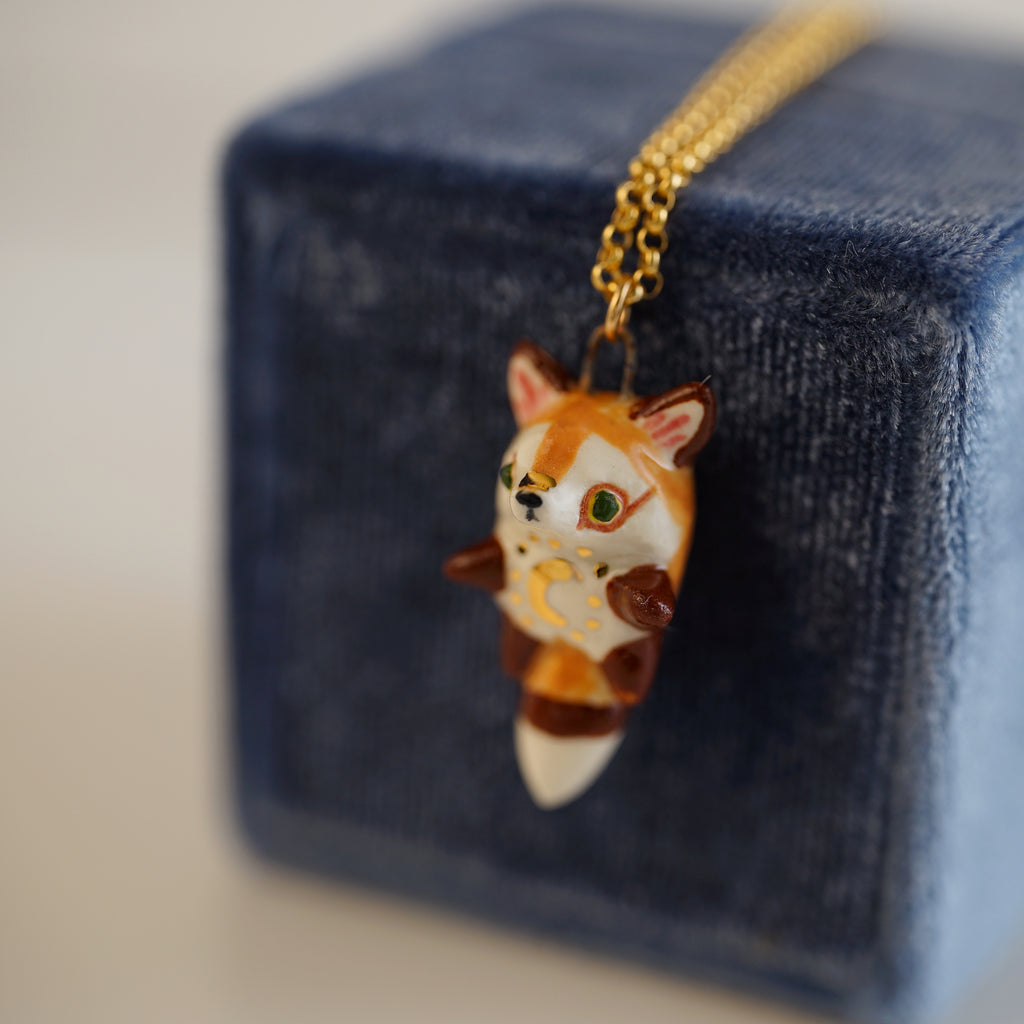 Moon Fox Necklace