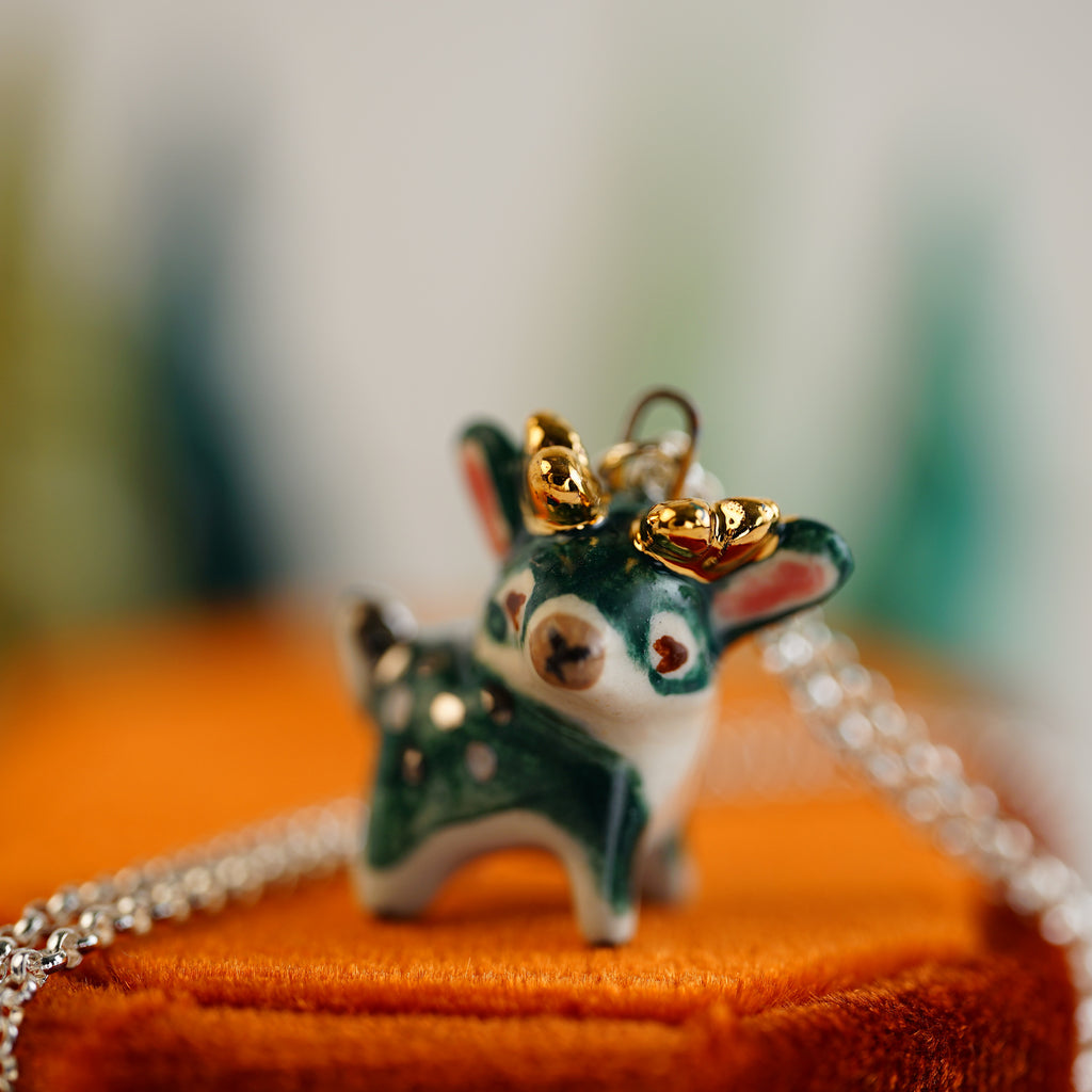Little Stag Necklace