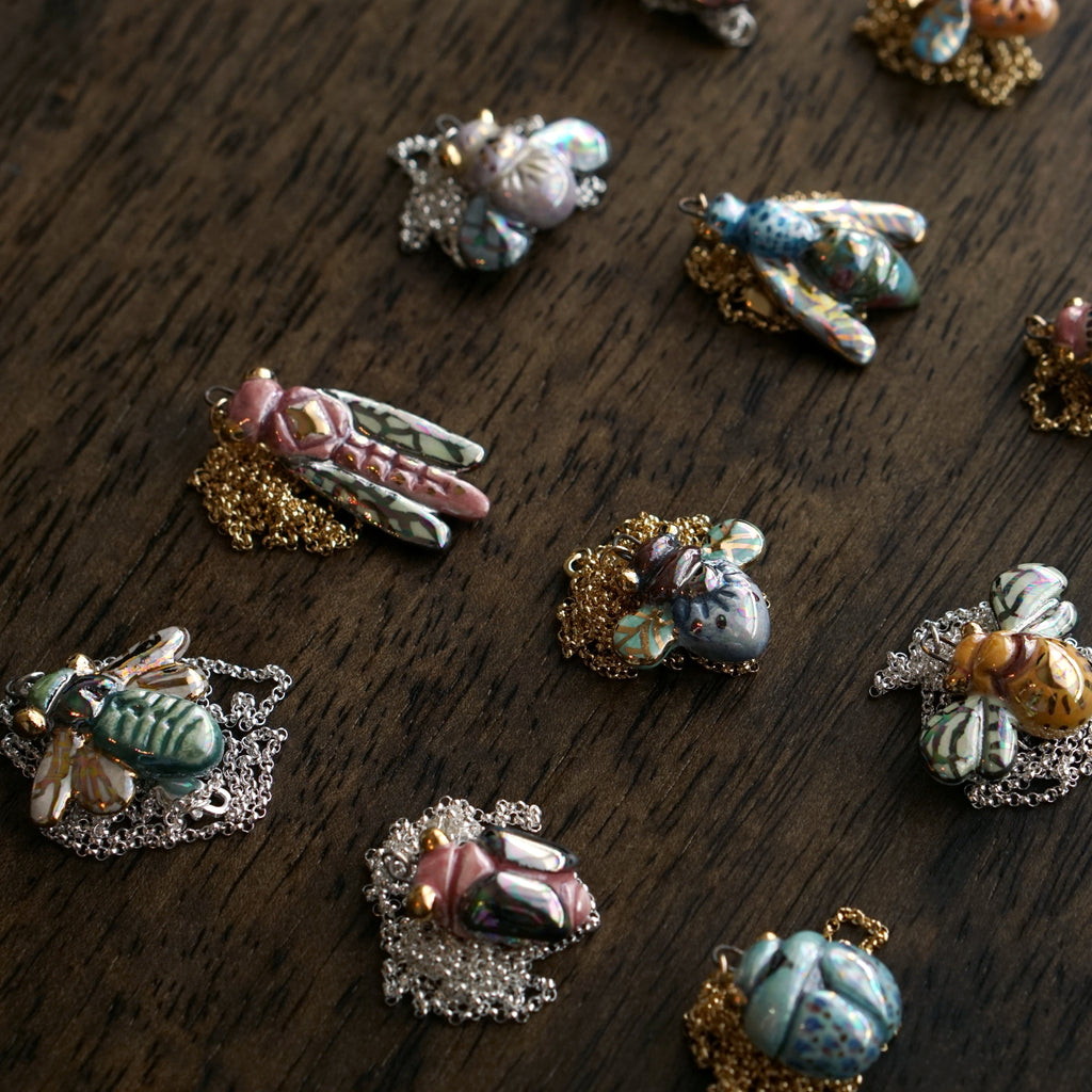 Entomology Necklace