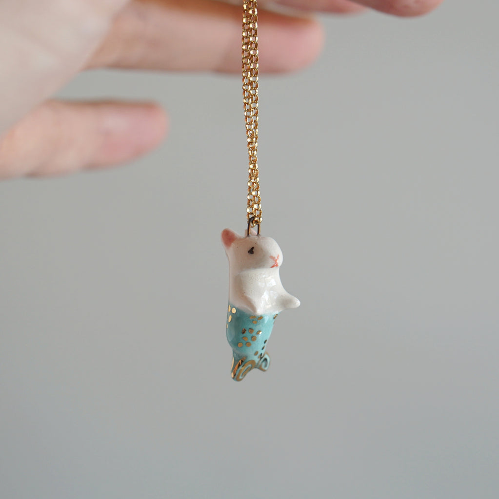 Merbunny Necklace
