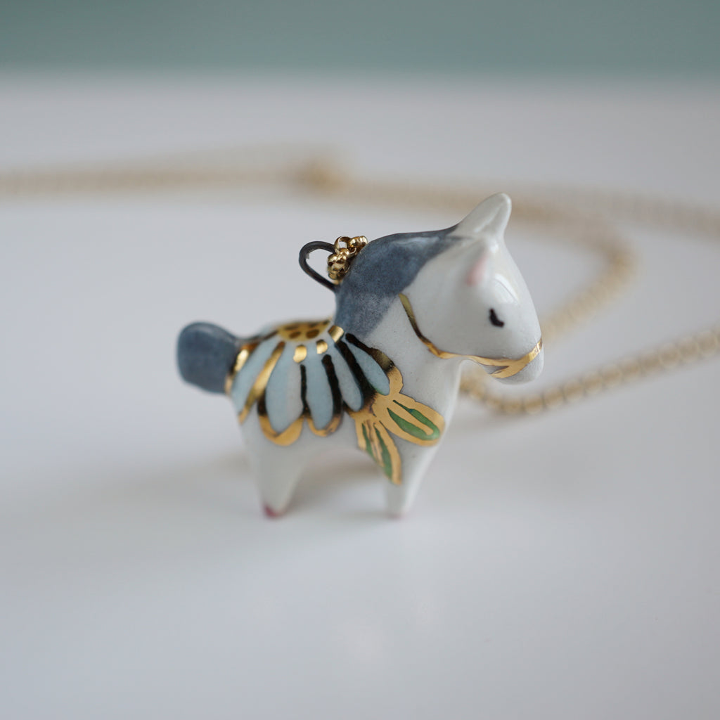 Floral Pony Necklace