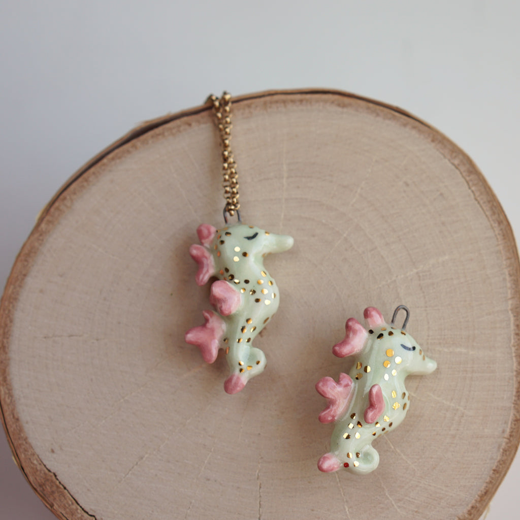 Leafy Sea Dragon Necklace