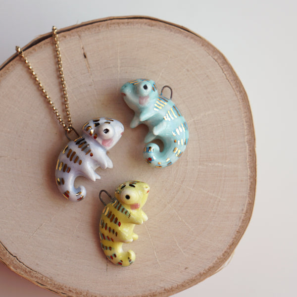 Chameleon necklace
