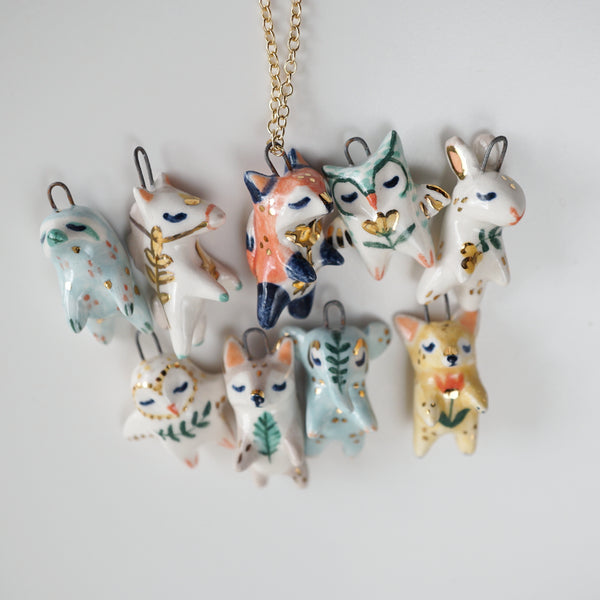 Folk Animal Necklace
