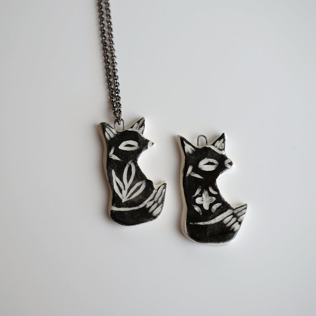 Black Fox Necklace