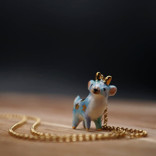 Starry Deer Necklace