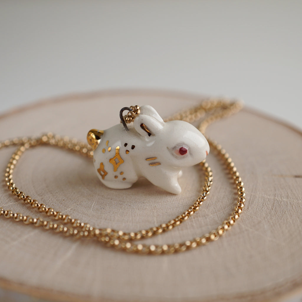 Starry Rabbit Necklace