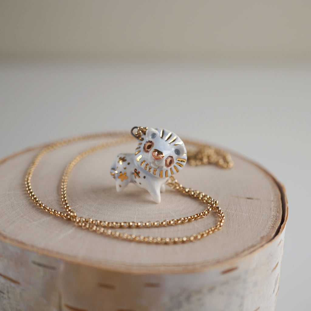 Starry Lion Necklace