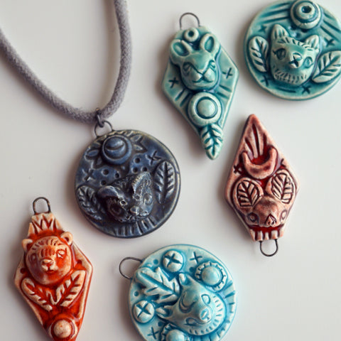 Wild Amulet Necklace