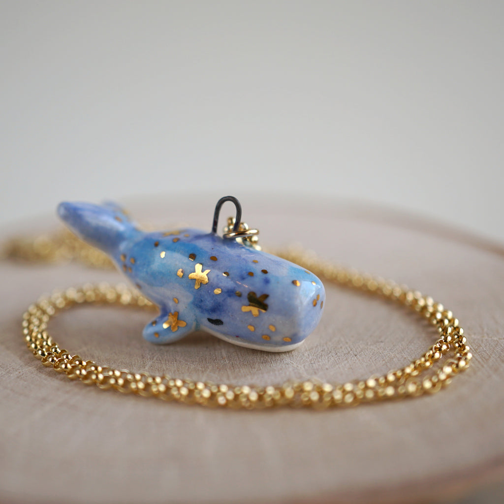 Galaxy Whale Necklace