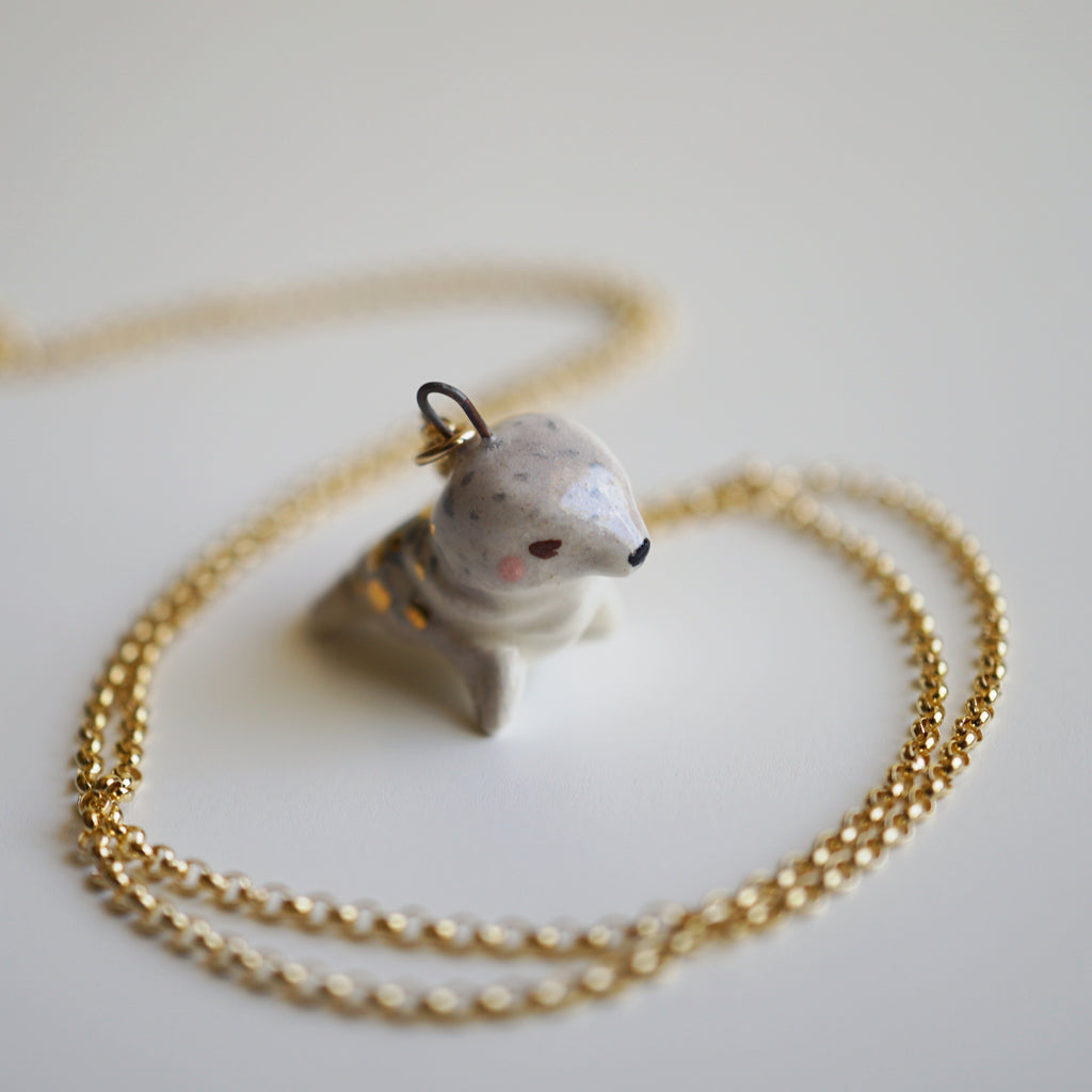 Seal Pup Necklace