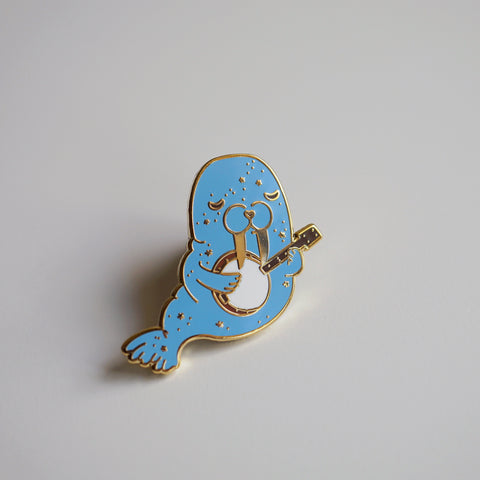 Bluegrass Walrus Enamel Pin