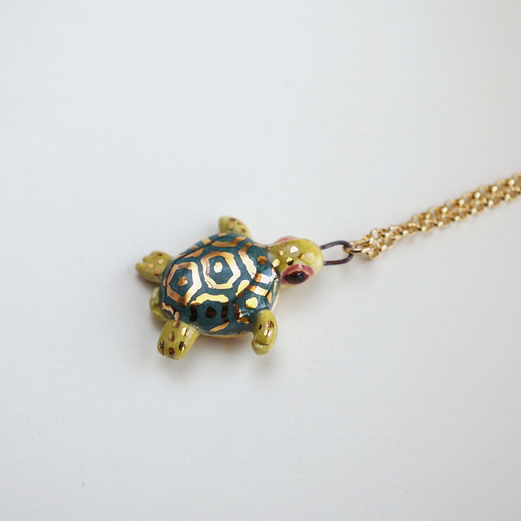 Baby Tortoise Necklace