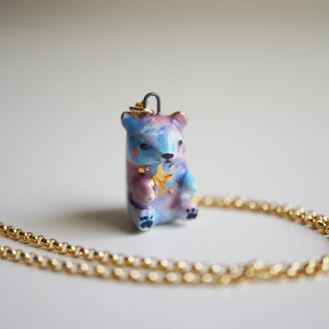 Star Bear Necklace