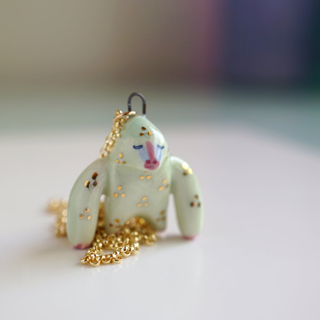 Mandrill Baboon Necklace