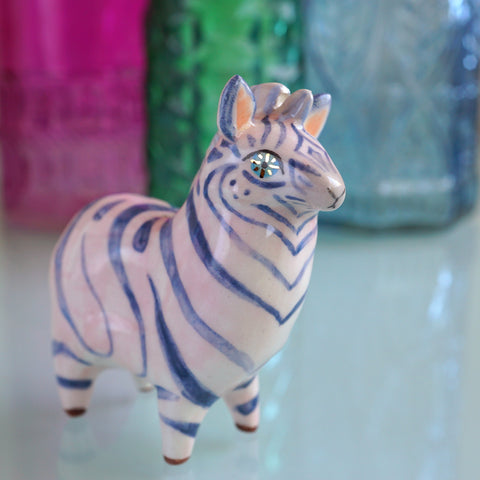 Starry Eyed Zebra