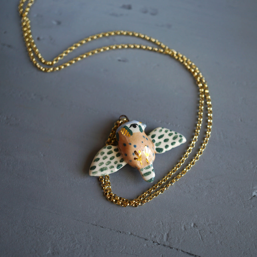 Kestrel Falcon Necklace