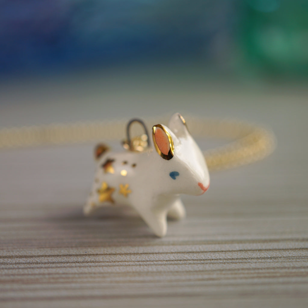 Starry Bunny Necklace