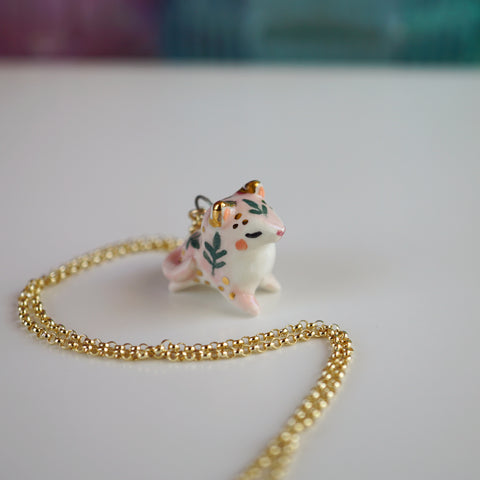 Fern Cat Necklace