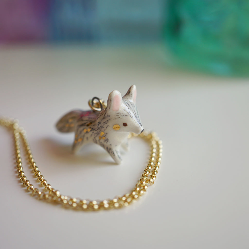 Little wolf Necklace