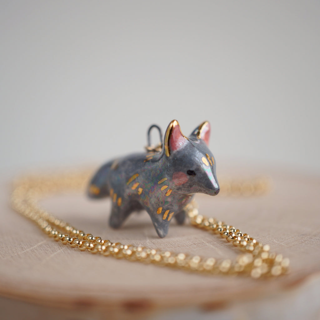 Dark Wolf Necklace