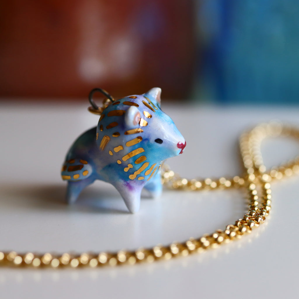 Galaxy Lion Necklace