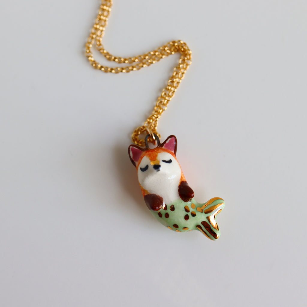 Merfox Necklace