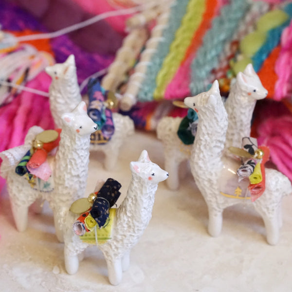 Alpaca Figure + Wild Plum collab