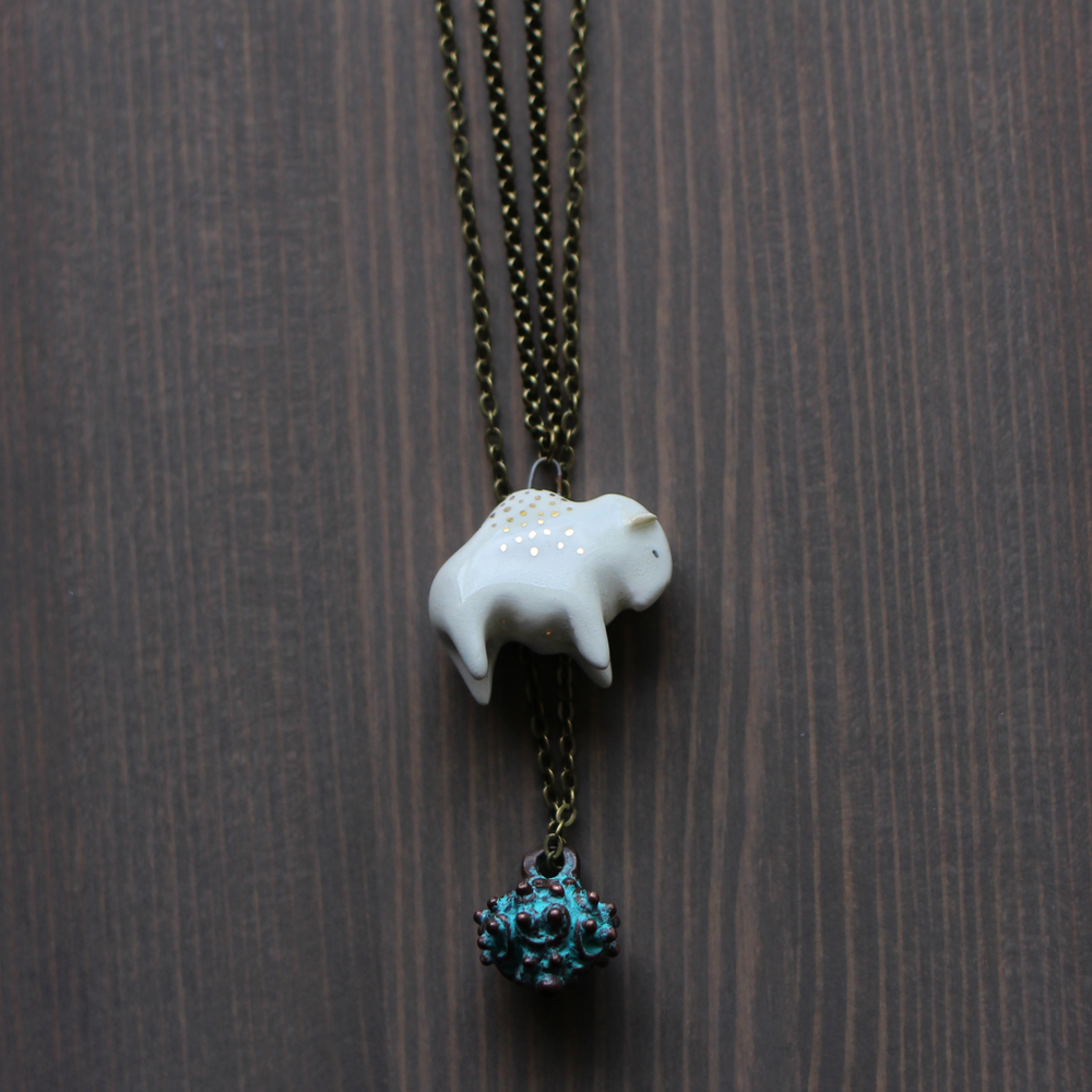 Little Bison Layering Necklace Set