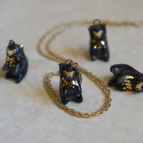 Black Bear Necklace