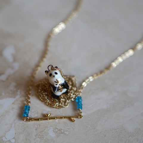Panda necklace set - Small Wild + Primlark