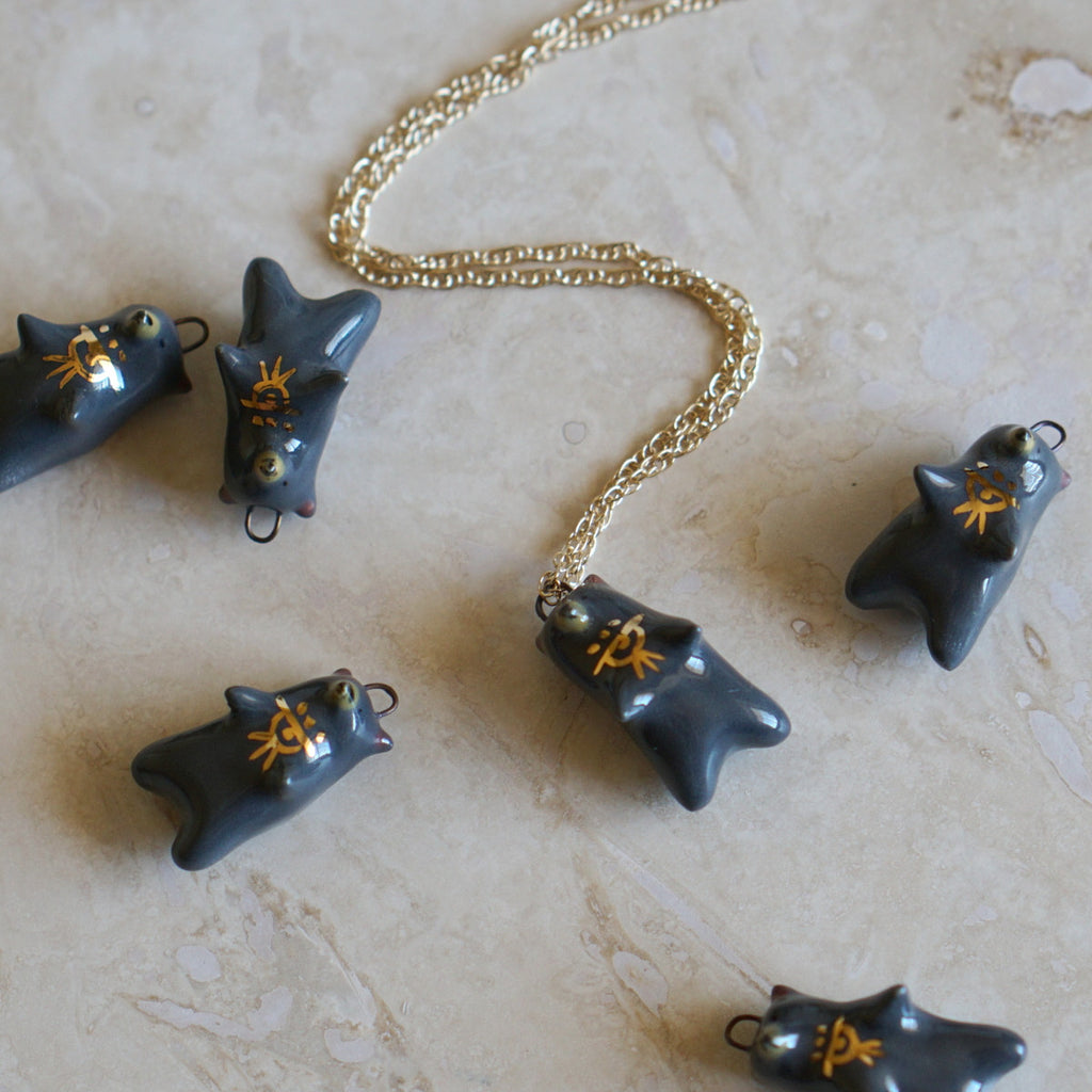 Sundown Bear Necklace